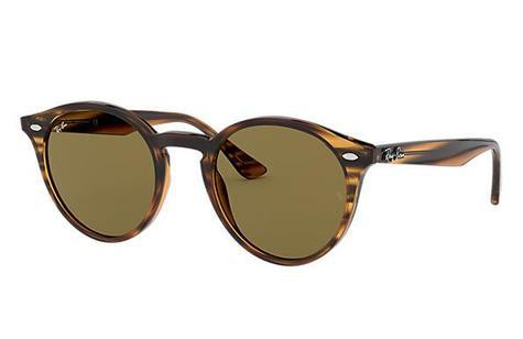 Ray-Ban RB2180 Stripped Red Havana Sunglasses